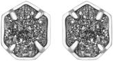 Kendra Scott Taylor Earrings, Platinum Drusy