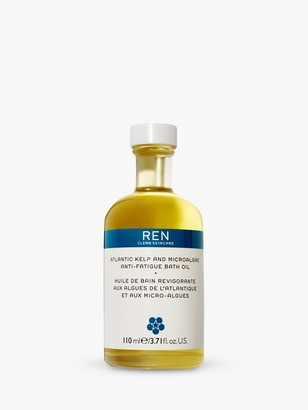 REN Atlantic Kelp And Magnesium Salt Anti-Fatigue Bath Oil, 110ml