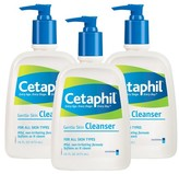 Cetaphil Skin Cleanser Set - 3 Pack