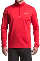 Columbia Trail Summit Omni-Heat® Shirt - Zip Neck, Long Sleeve (For Men)