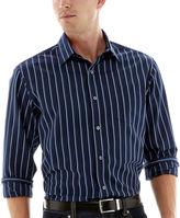 Claiborne Long-Sleeve Blue Woven Shirt