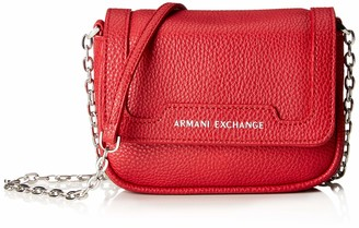 Armani Exchange A X Chain Strap Small Crossbody Bag