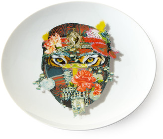 Christian Lacroix Love Who You Want Tiger Dessert Plate