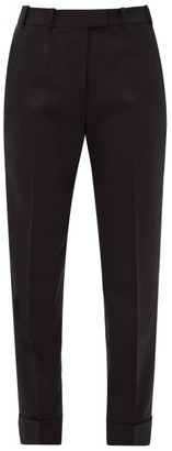 Cefinn Clement Tapered-leg Crepe Suit Trousers - Black