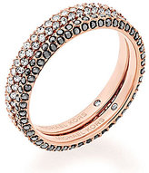 Michael Kors Color Rush Pave Crystal Stacked Ring