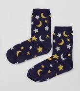 New Look Star and Moon Sequin Socks