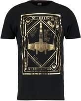 Celio Print Tshirt Black