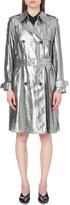 3.1 Phillip Lim Metallic crepe trench coat
