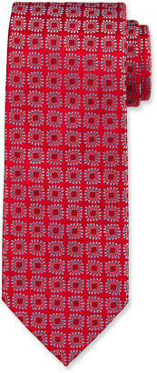Charvet Men's Large Neat Silk Tie