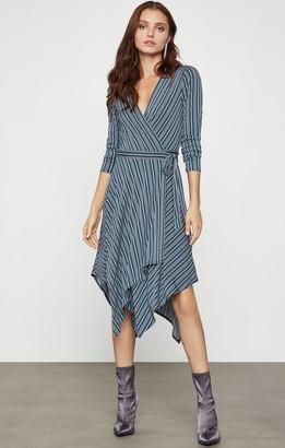 BCBGMAXAZRIA Knit Wrap Dress