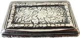 One Kings Lane Vintage Parisian Silver Snuff Box, C. 1820