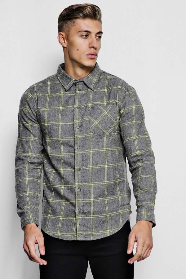 68c491d53 boohoo Grey Check Tops For Men - ShopStyle UK