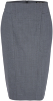 Oxford Monroe Stretch Wool Suit Skirt