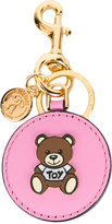 Moschino teddy bear key ring - women - Leather/Metal (Other) - One Size