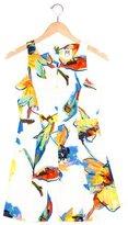 Milly Minis Girls' Bird Print Sleeveless Dress