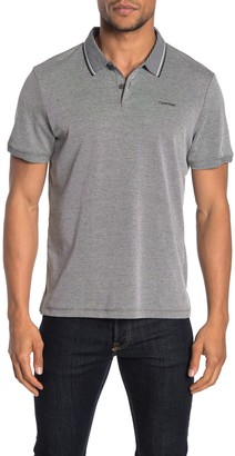 Calvin Klein Short Sleeve Performance Pique Polo