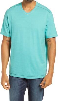Tommy Bahama Wave Tropic Pima Cotton Men's V-Neck T-Shirt