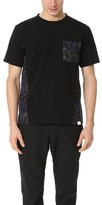 White Mountaineering Desert Camo Printed Contrast Tee