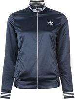 adidas striped detailing track jacket - women - Polyester/Spandex/Elastane - S