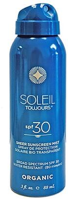 Soleil Toujours Travel Size Sheer Sunscreen Mist Spf30