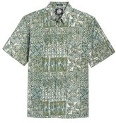 Reyn Spooner Men's Leho Kapa Classic Fit Sport Shirt