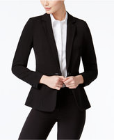 XOXO Juniors' Notch-Lapel Blazer