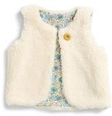 Toddler Girl's Mini Boden Gilet Reversible Vest