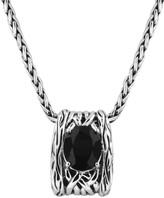 Effy Jewelry Effy 925 Lagoon Onyx Pendant, 4.37 TCW