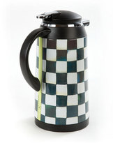 Mackenzie Childs MacKenzie-Childs Courtly Check Coffee Carafe