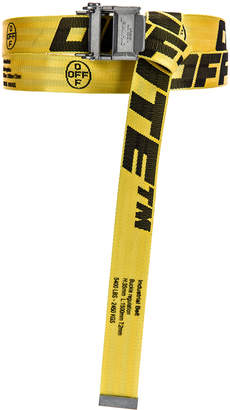 Off-White Off White 2.0 Industrial Belt in Yellow & Black | FWRD