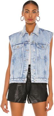 AllSaints Alva Vest. - size L (also