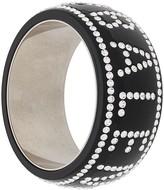Balenciaga crystal embellished Crush bangle
