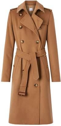 Burberry Cashmere Kensington Trench Coat
