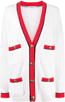 Philosophy di Lorenzo Serafini multi-pocket V-neck cardigan