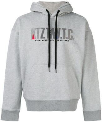 Kokon To Zai Mountain embroidered hoodie
