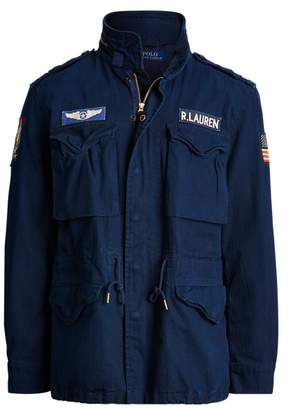 Ralph Lauren Cotton Twill Field Jacket