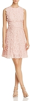 T Tahari Sia Flower Applique Dress