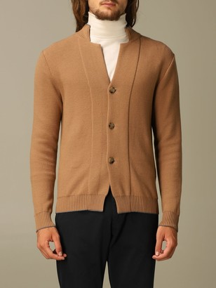 Eleventy Cardigan In Virgin Wool