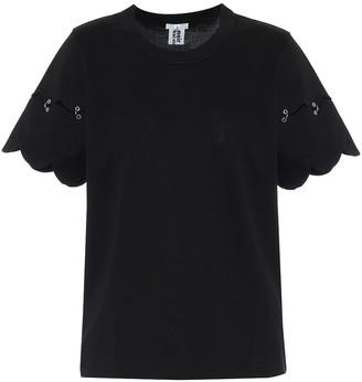 Noir Kei Ninomiya Cotton-jersey T-shirt