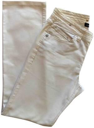 Marc Cain Ecru Cotton - elasthane Jeans for Women
