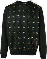 Versace monogram sweatshirt