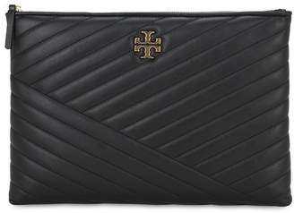 Tory Burch QUILTED LEATHER POUCH