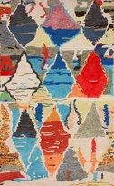 nuLoom 200MJSM21A-508 Hand-Tufted Moroccan Berber Wool/Faux Silk Rug (5-Feet X 8-Feet)