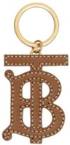 Burberry Monogram Motif Two-tone Leather Key Charm
