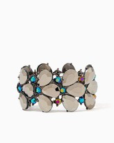 Charming charlie Drop Cluster Stretch Bracelet