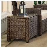 Crosley Bradenton Outdoor Wicker Rectangular Side Table