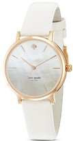 kate spade new york Rose Gold Metro Strap Watch, 34mm