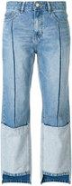 Sjyp Ton On Ton tomboy jeans - women - Cotton - XS