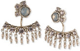 Marchesa Gold-Tone Stone and Crystal Earring Jackets