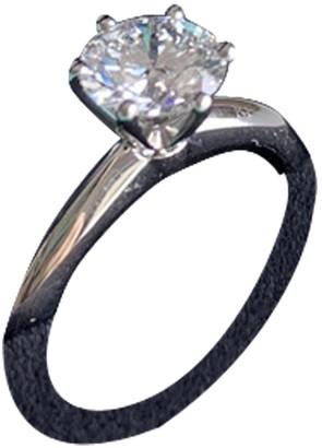 Tiffany & Co. & Co Soleste Anthracite Platinum Rings